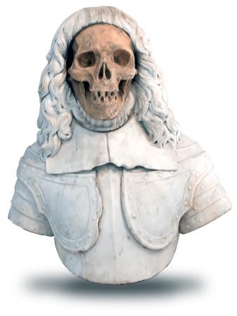 Late 17th Century Italian Vanitas Sculpture Step 6