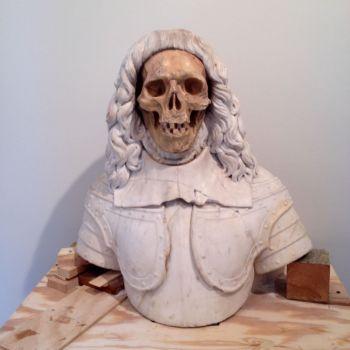 Late 17th Century Italian Vanitas Sculpture Step 4