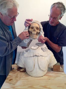 Late 17th Century Italian Vanitas Sculpture Step 2 - Part 1