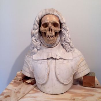 Late 17th Century Italian Vanitas Sculpture Step 4