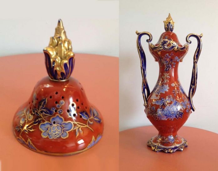 restored potpourri urn