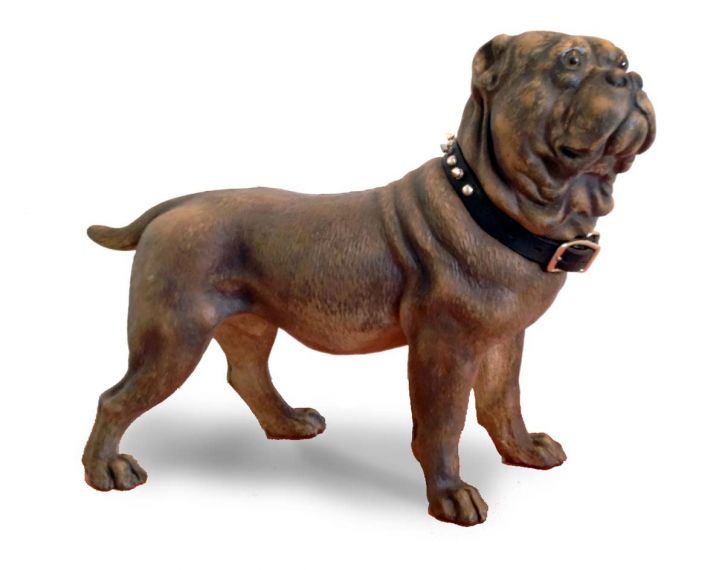 Restored Terra Cotta dog